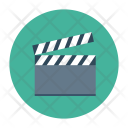 Clapper Settings Cinema Icon