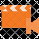 Clapper Begining Cut Icon