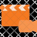 Clapper Camera Video Icon