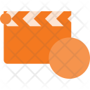 Clapper Record Cut Icon