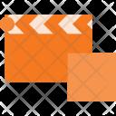 Clapper Stop Cut Icon