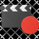 Clapper Record Clip Icon
