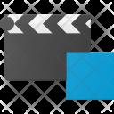 Clapper Stop Clip Icon