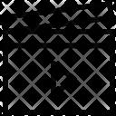 Clapper Clapboard Clapperboard Icon