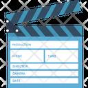 Clapper Video Production Movie Maker Icon