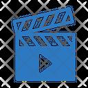 Video Clapper Marketing Icon