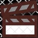 Clapper Cinema Film Icon
