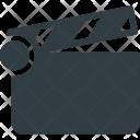 Clapper Clip Movie Icon
