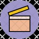 Clapper Movie Flap Icon