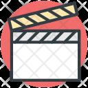 Clapper Clapperboard Clapboard Icon