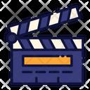 Clapper Board Clapperboard Movie Icon