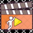 Clapper Board Director Object Movie Board Icon