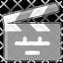 Film Clapper Board Clapper Icon