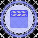 Cinema Clap Film Icon