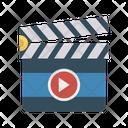 Clapper Board Video Icon