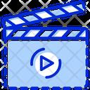 Clapper Film Clapper Clapper Board Icon