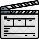 Slate Cinema Movie Icon