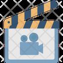 Cinematography Clapper Clapper Board Icon