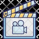 Clapboard Clapper Clapper Board Icon