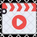 Clapper Board Film Clapper Movie Clapper Icon