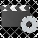 Clapper Settings Clip Icon