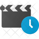 Clapper Timer Time Icon
