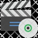 Clapper Cd Clapperboard Icon