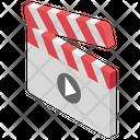 Clapper Clapper Board Filmmaking Icon