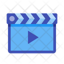 Clapboard Clapper Clapperboard Icon