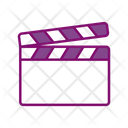 Clapperboard Movie Cinema Icon