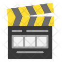 Clipperboard Clapperboard Cut Icon