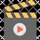 Clapperboard Clapboard Cinema Icon