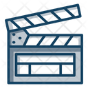 Action Clapperboard Movie Clapper Icon