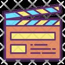 Clapperboard Clapper Board Icon