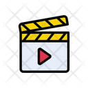 Clapper Board Movie Icon