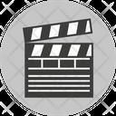 Clapperboard Movie Clapper Icon