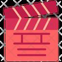 Clapperboard Clapper Clapboard Icon