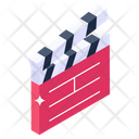 Action Board Clapperboard Director Equipment Icon