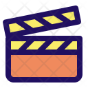 Clapperboard Action Direction Icon