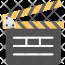 Clapper Board Production Icon