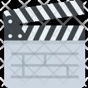 Filmmaking Clapperboard Cinema Icon