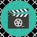 Clapperboard Film Board Icon