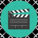 Filming Board Clapperboard Icon