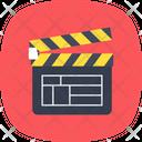 Clapboard Clapper Filmmaking Icon
