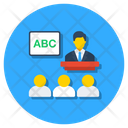 Class Lecture Classroom Icon