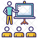 Class Lecture Training Icon