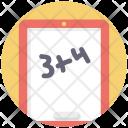 Addition Calculation Maths Icon