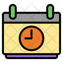 Class Schedule Timetable Education Icon