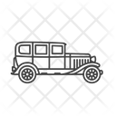 Classic Classic Car Transportation Icon