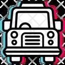 Classic Car Travel Icon